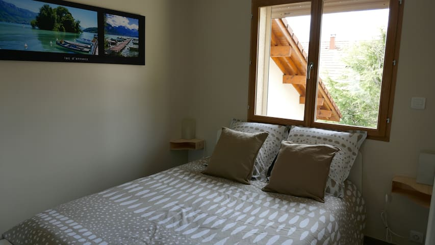Calm area, on the countryside 10 mn from Annecy - Lovagny - Apartemen