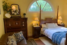 Maple Cottage bedroom and sanctuary