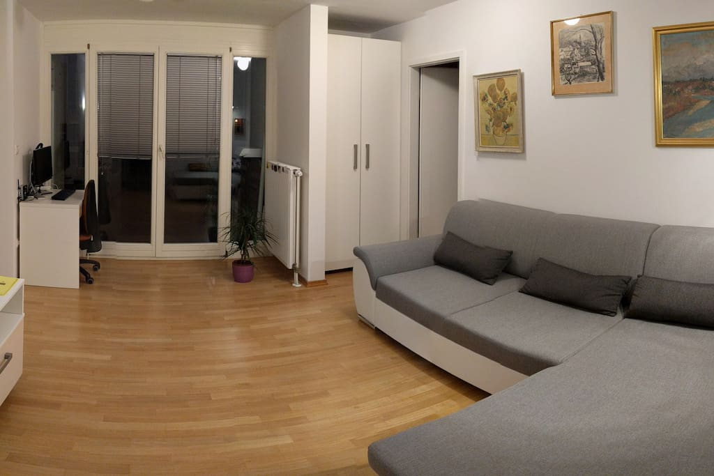 Living room & exit to air :)