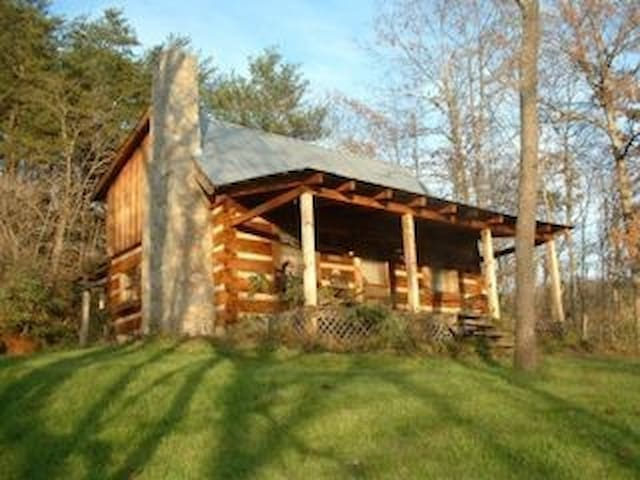 French Broad River Log Cabin