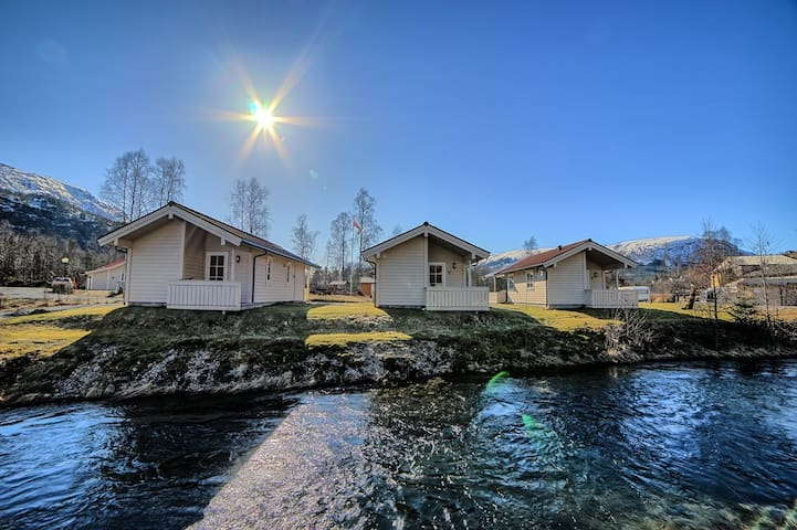 Nice cabin, located close to the river
