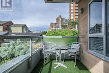 Nice sized patio, perfect for getting some fresh air or having a few beverages.
