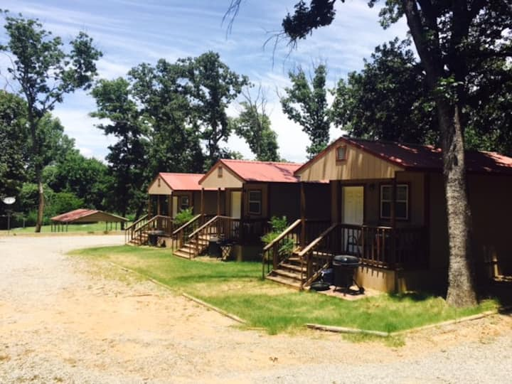 Angler's Hideaway Cabins on Lake Texoma Cabin 4