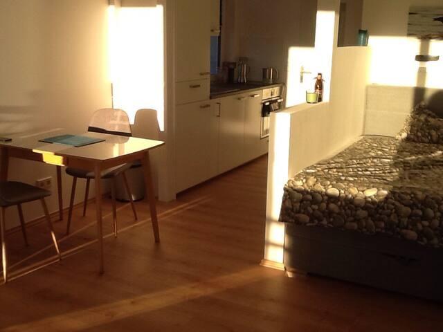 Modernes Apartment in Einfamilienhaus neben Messe