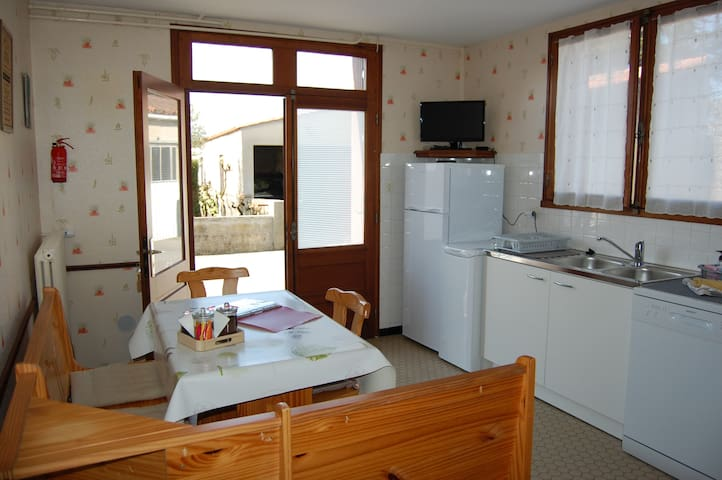 logement  pour quatre personnes proche Océan
