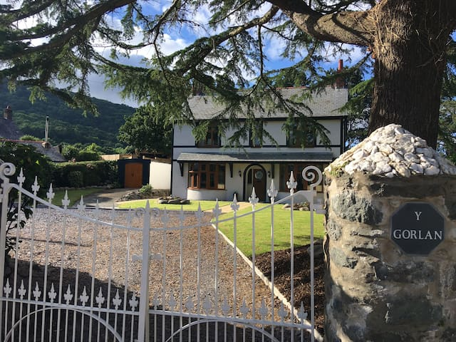 Detached 4 ensuite bedrooms near historic Conwy - Rowen - Rumah