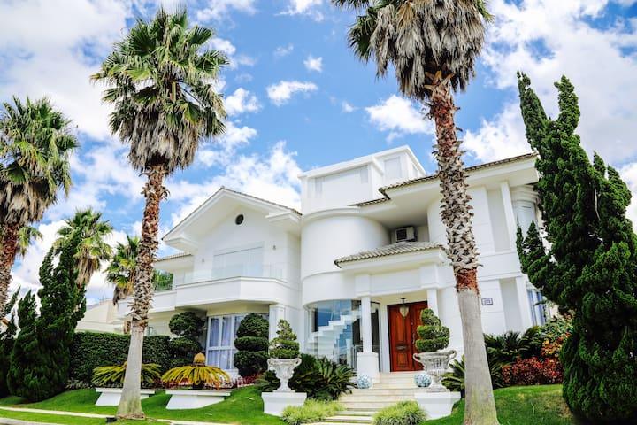 Elegante casa de praia
