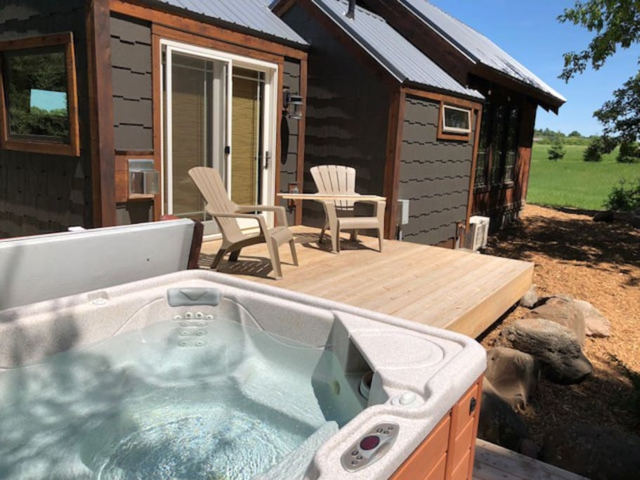 3 Decks and a Hot Tub