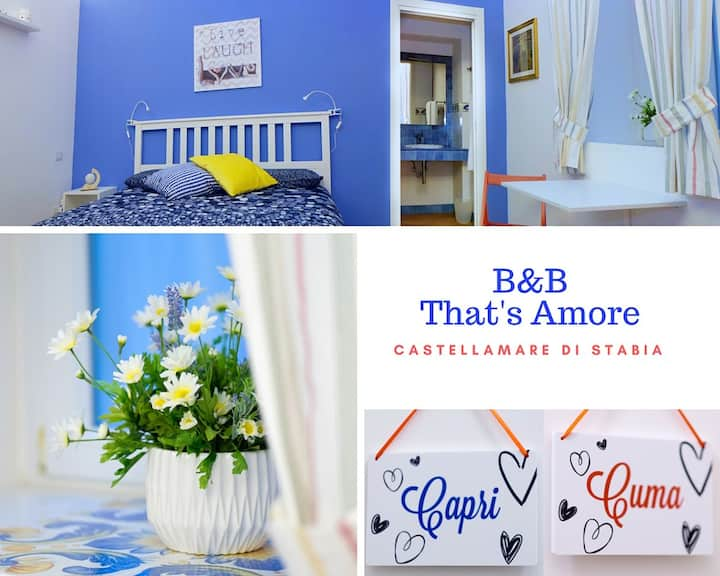 B&B That's Amore Cuma Room