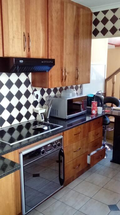 Shared kitchen (downstairs)
