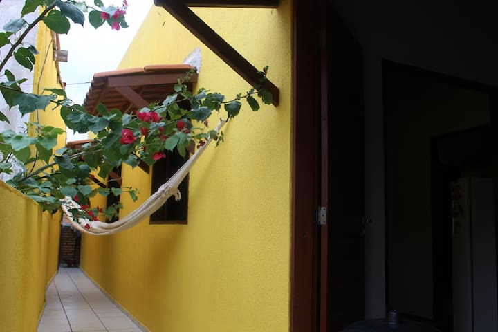 Sunny Room  close to the Beach - Jericoacoara Beach - Apartamento