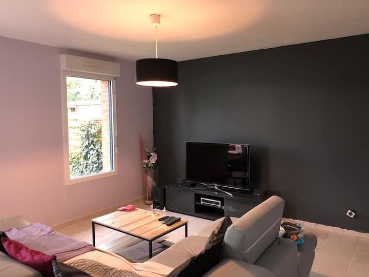 Belle maison lumineuse
