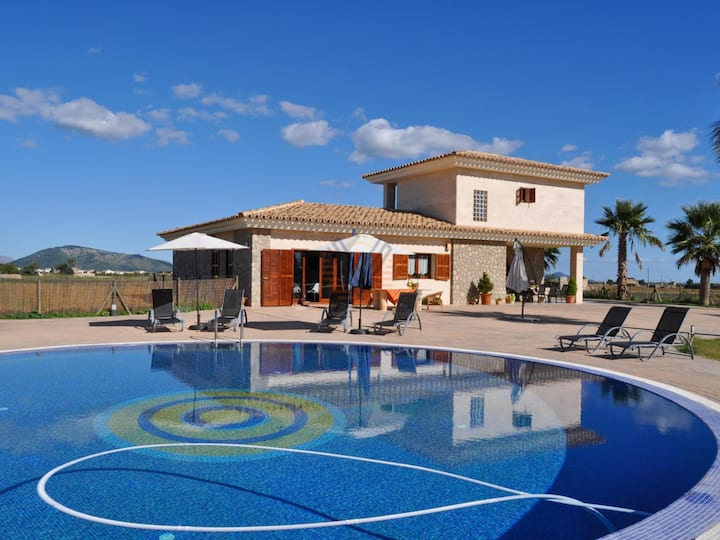 Eden Son Manyo 222, holiday Country house for 8 people in Sa Pobla, Mallorca