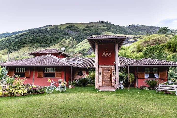 Chácara Vale das Flores- Cascata . Lumiar