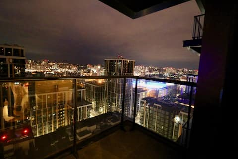 """""""The Roof of Kyiv"""" (23rd floor panoramic view)"""