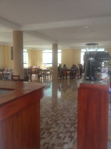 Local hostel and  Valle Santa Restaurant&coffee