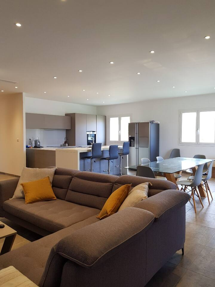 Villa haute qualité entre terre et mer