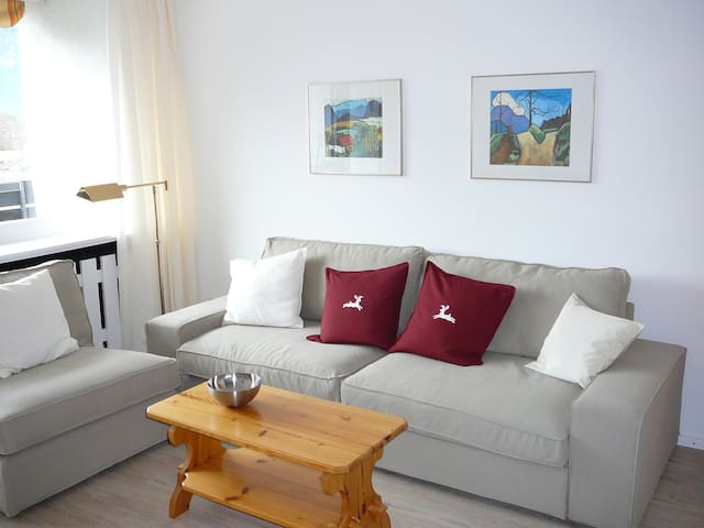 "Appartment ""Panoramablick"" - Garmisch-Partenkirchen - Appartement"