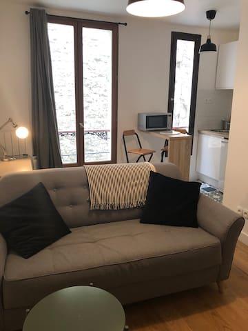Appartement  neuf centre Paris, proche métro