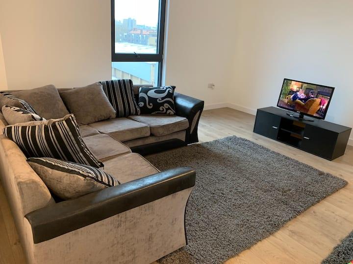 Brand-new contemporary flat in Bermondsey
