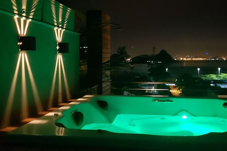 Loft exclusivo com Jacuzzi