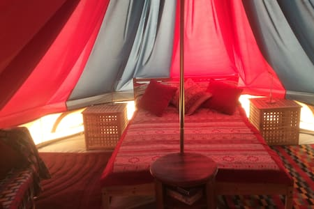 Luxury Glamping Bell Tent - English Frankton - Barraca