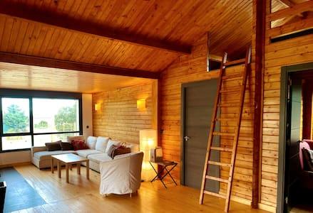 Cabaña de madera reformada en Ávila