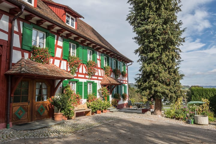 Holiday Apartment Risthof 3; Balcony, Shared Garden & Sauna, Playground, Wi-Fi, Parking Spaces available