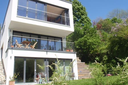 Sonnige Erdgeschoss-Wohnung mit Terrasse nahe See - Konstanz