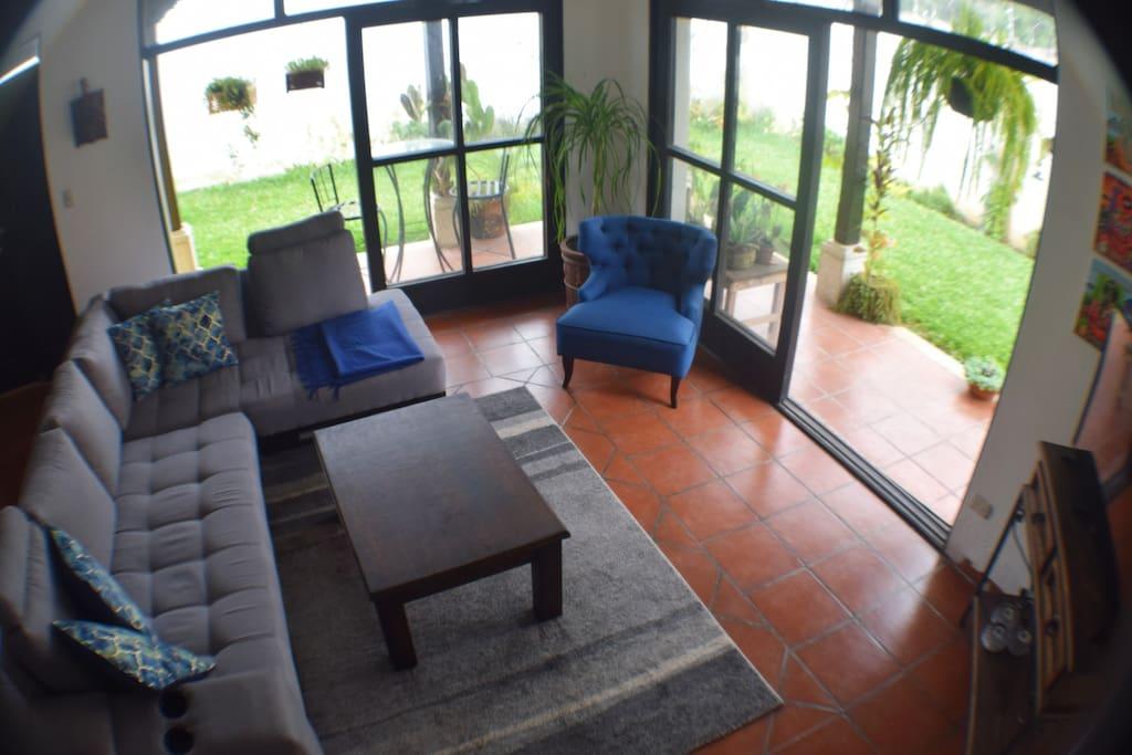 Like having a living room outside!