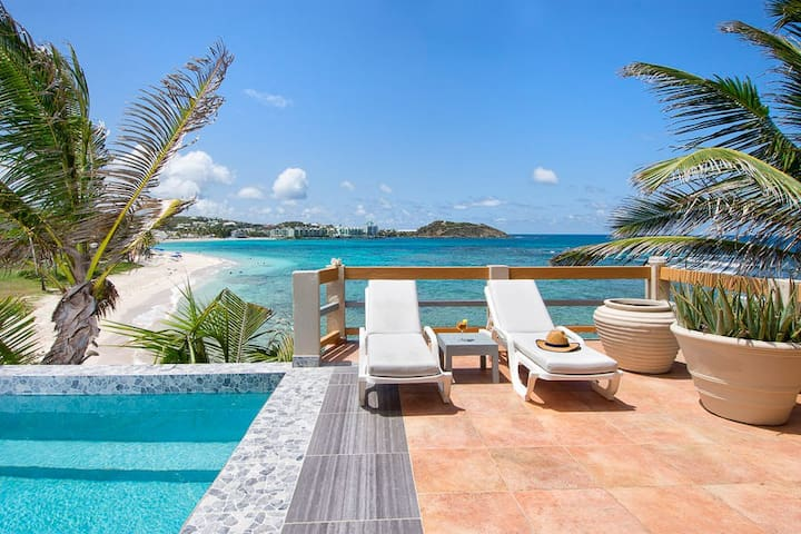 3BR Beachfront,private pool,great views- Bell'Mare