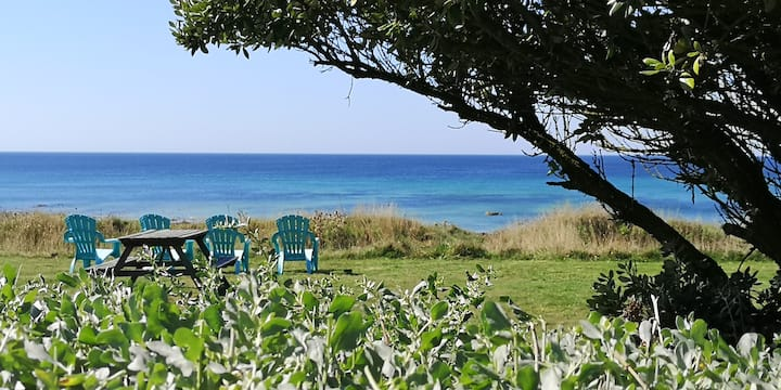 La Maison Océan, accès direct mer du jardin - WIFI