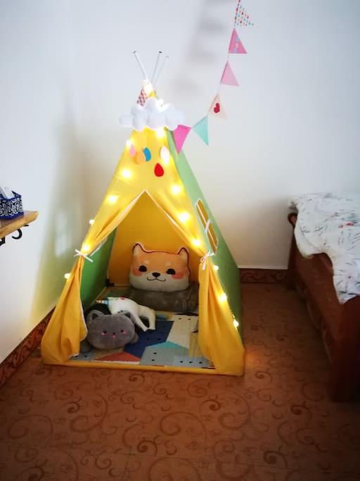 三人家庭房儿童娱乐设施
