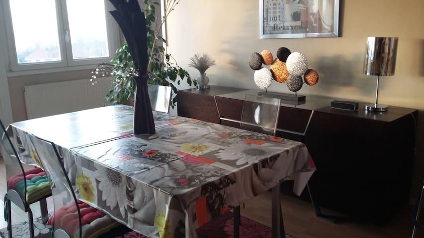 PROX LILLE CHARMANT T3 de 66M2 CALME ET LUMINEUX - Lille - Apartment