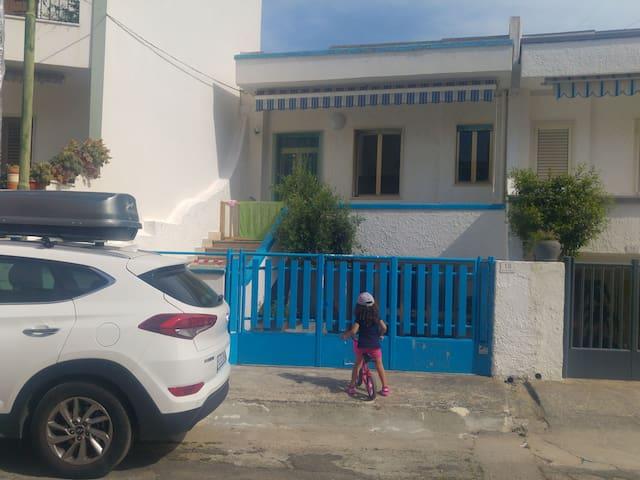 Casa Primo. Centro + mare.