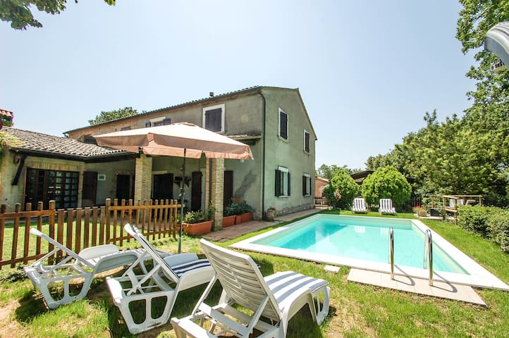 Casa Allerona, house with private pool. Quiet area - Allerona - Дом