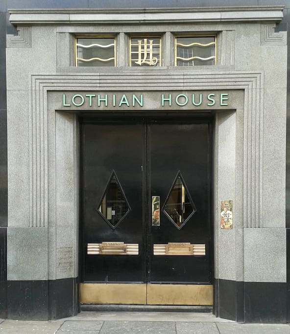 The entrance to Lothian House