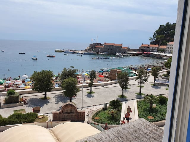Petrovac 1st line , in front of beach