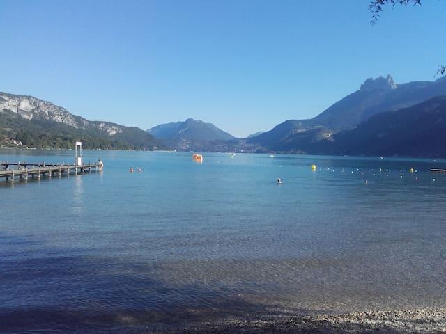 4 chambres à 5 min du lac d'Annecy - Doussard - Casa de hóspedes