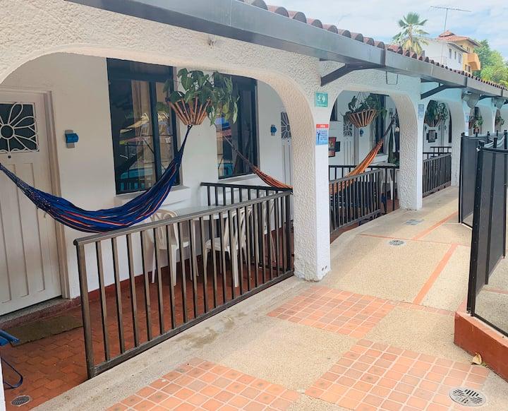 Cabaña Junior en Hermoso Hotel tipo Campestre