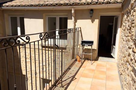Appartement cosy avec terrasse à Bagnols sur Cèze - Bagnols-sur-Cèze - 公寓