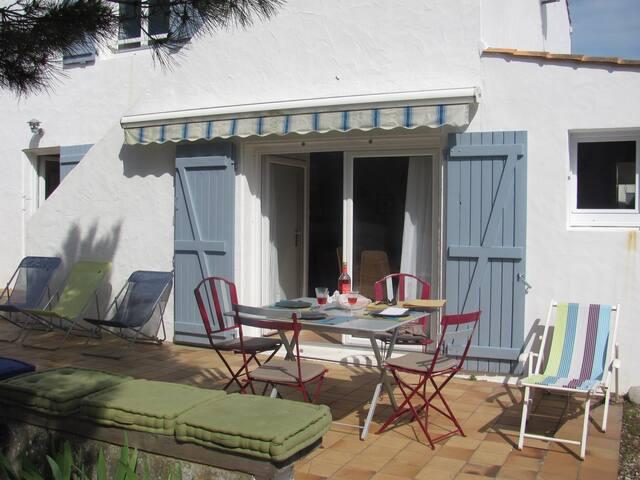 Jolie maison de famille à 200 mètres de la plage - La Guérinière