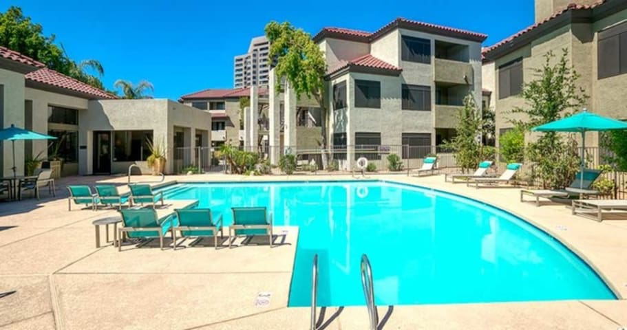 H5 | PHX Country Club | 1st Floor | Pool | Relax!