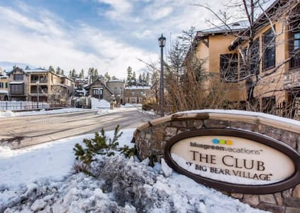 Luxury 3br townhome in Big Bear Mountain resort - Big Bear Lake
