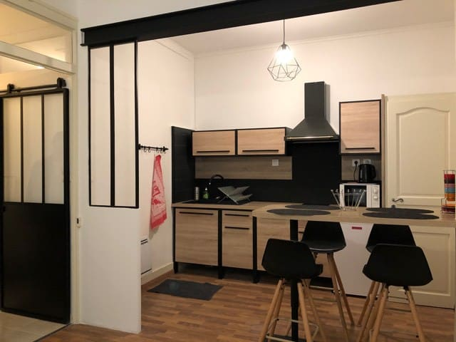 T2cosy(4pers)idéalement situé, proche centre Lyon