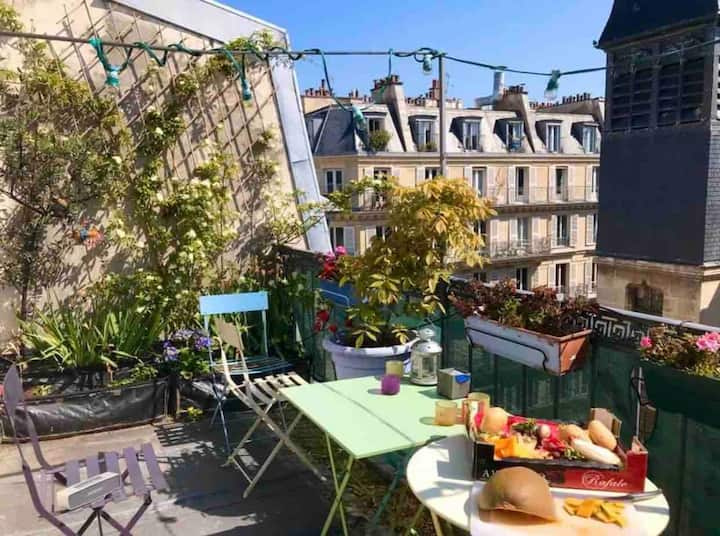 Lovely flat right in Paris center