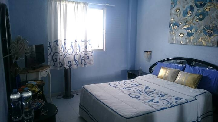 Room with private bathroom en Galdar,Las Palmas