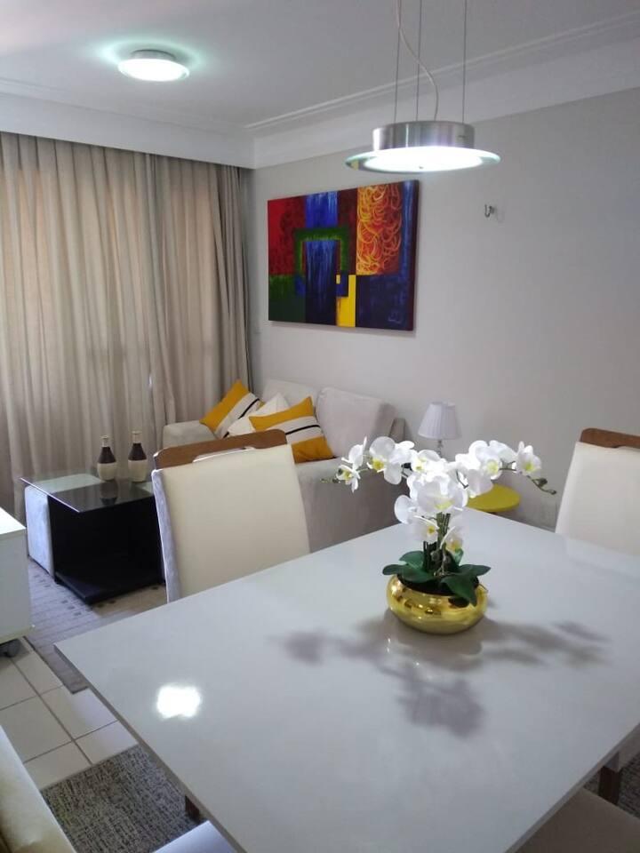 Confortável apartamento em Ponta Negra- Natal RN