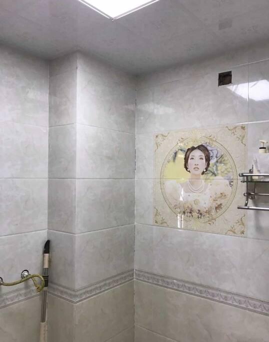 浴室整体都很干净