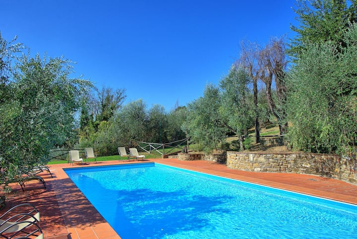 La Selva 1 - Holiday Rental with swimming pool near Florence, Tuscany